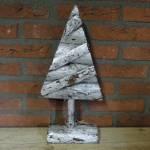 36.-Landelijke-decoratie-zilveren-kerstboom