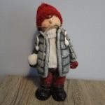 Sneeuwbal jongentje, landelijke decoratie