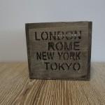 Windlicht wereldsteden, landelijke decoratie, rome, london, new york, tokyo