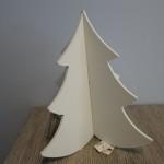 Kerstboom 3D, landelijke decoratie
