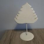Kerstboom op stok, landelijke decoratie